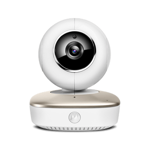 smart nursery cam white