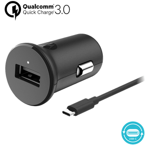 Cargador de automóvil Motorola TurboPower ™ 18 con cable de datos USB-C
